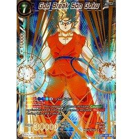 Bandai Namco God Break Son Goku - BT1-031 - Special Rare