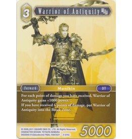Square Enix Warrior of Antiquity (2-074) - Common