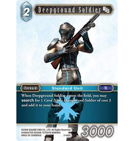 Square Enix Deepground Soldier (3-042) - Common