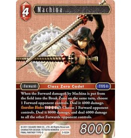 Square Enix Machina (3-022) - Hero Foil