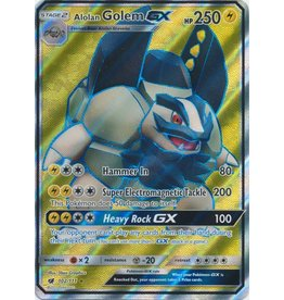 Pokemon Alolan Golem GX - 102/111 - Ultra Rare Full Art