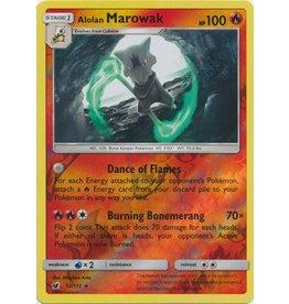 Pokemon Alolan Marowak - 12/111 - Holo Rare Reverse Holo