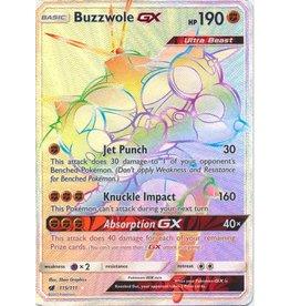 Pokemon Buzzwole GX  - 115/111 - Secret Rare