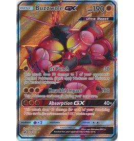 Pokemon Buzzwole GX - 104/111 - Ultra Rare Full Art