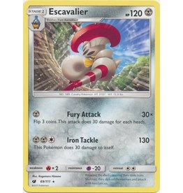 Pokemon Escavalier - 69/111 - Rare
