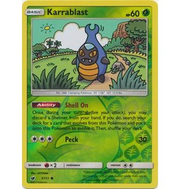 Pokemon Karrablast - 7/111 - Common Reverse Holo