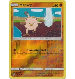 Pokemon Mankey - 50/111 - Common Reverse Holo