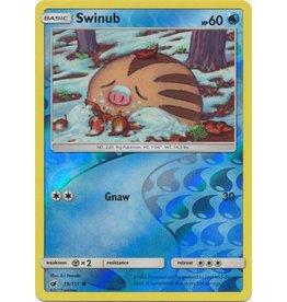 Pokemon Swinub - 19/111 - Common Reverse Holo