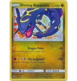 Pokemon Shining Rayquaza - 56/73 - Shining Holo Rare