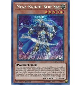 Konami Mekk-Knight Blue Sky - EXFO-EN014 - Secret Rare