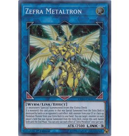 Konami Zefra Metaltron - EXFO-EN097 - Super Rare