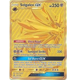 Pokemon Solgaleo GX - 173/156 - Secret Rare GX
