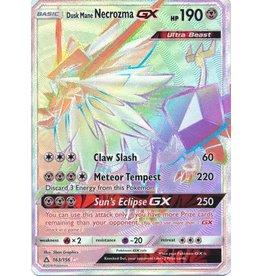 Pokemon Dusk Mane Necrozma GX - 163/156 - Secret Rare