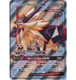 Pokemon Dusk Mane Necrozma GX - 145/156 - Full Art GX Rare
