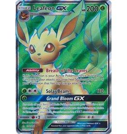 Pokemon Leafeon GX - 139/156 - Full Art GX Rare