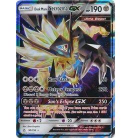 Pokemon Dusk Mane Necrozma GX - 90/156 - GX Rare
