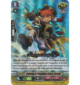 Bushiroad Lightning of Triumphant Return, Reseph - G-BT05/015EN - RRR