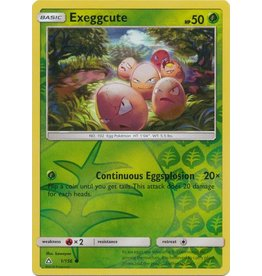 Pokemon Exeggcute - 1/156 - Common Reverse Holo