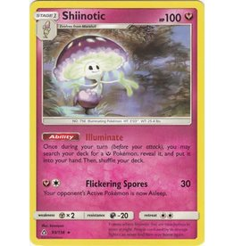 Pokemon Shiinotic - 93/156 - Rare