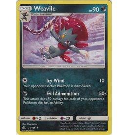 Pokemon Weavile - 74/156 - Holo Rare