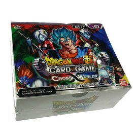 Bandai Namco Dragon Ball Super Card Game - Cross Worlds B03 - Booster Box