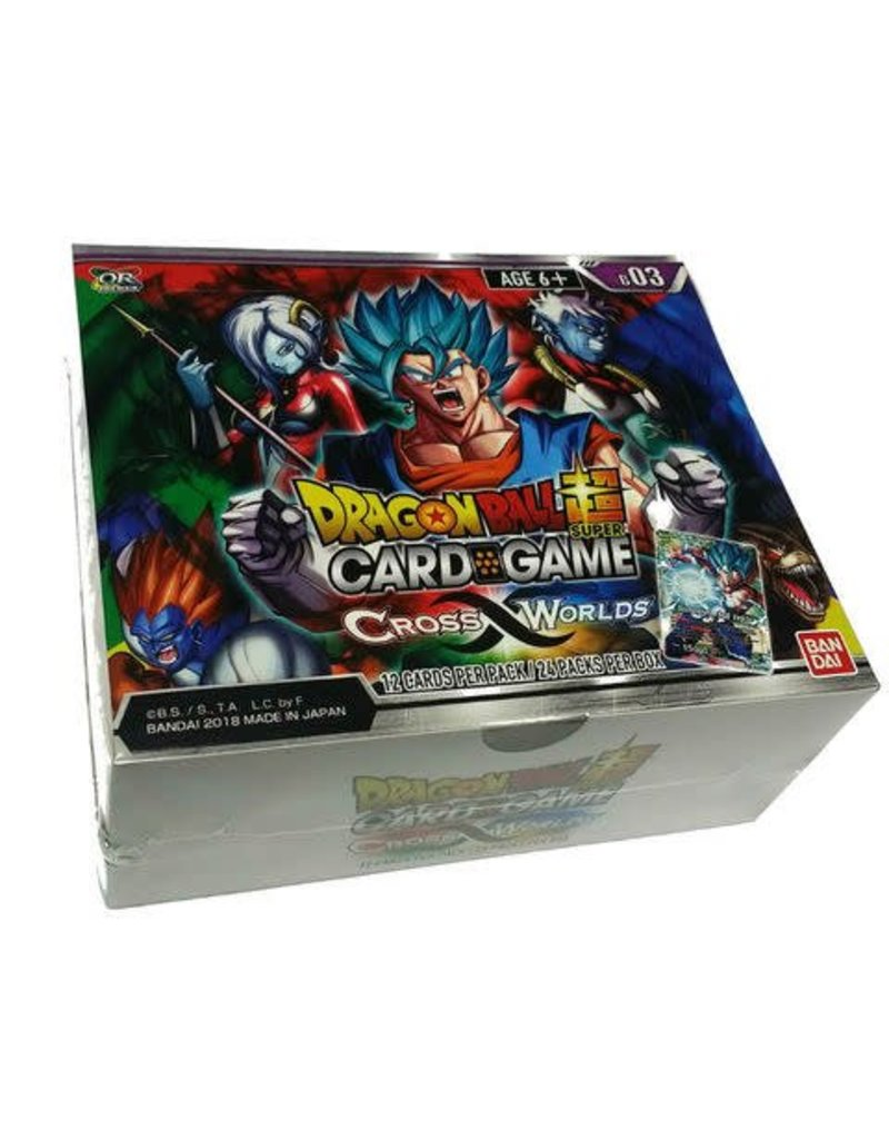Bandai Namco Dragon Ball Super Card Game - Cross Worlds B03 - Booster Box