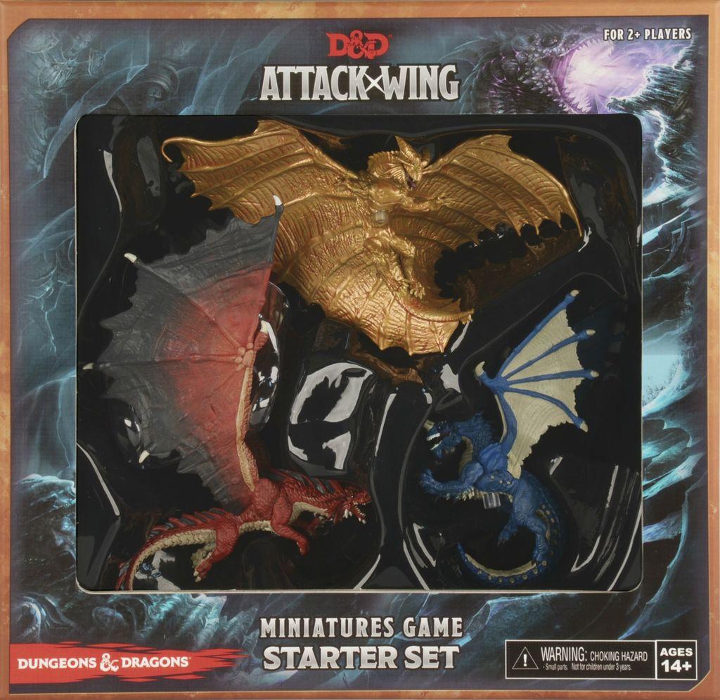 Wizkids D&D Attack Wing: Wave One Starter Set