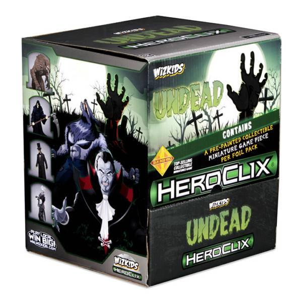 Wizkids Heroclix: Undead Gravity Feed