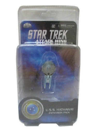 Wizkids Star Trek Attack Wing: Federation U.S.S Hathaway Expansion Pack