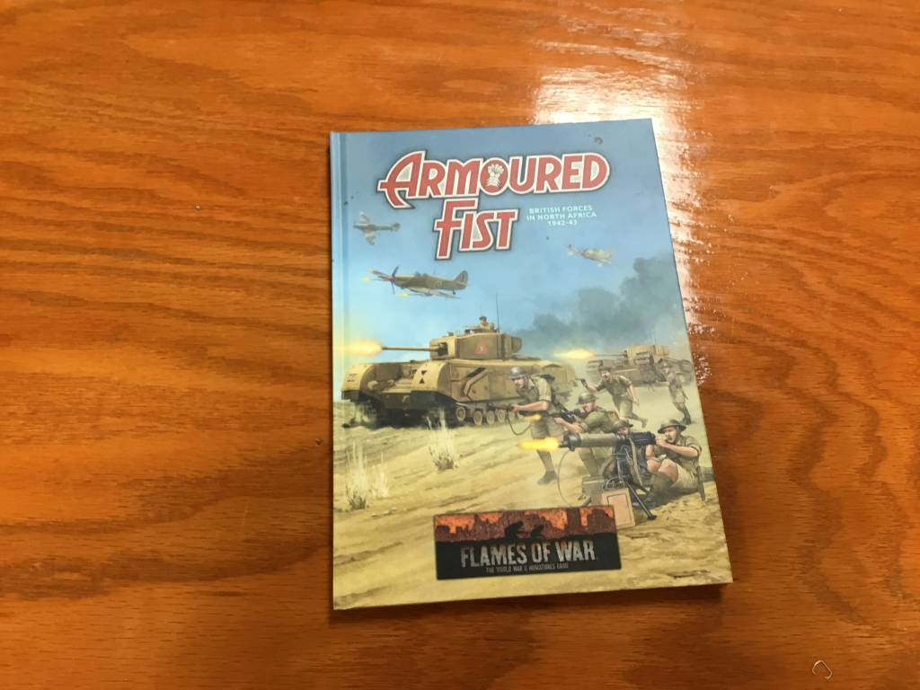 Flames of War FOW : Armoured Fist Harcover