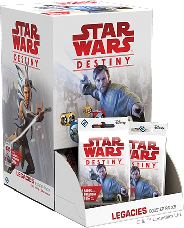 Fantasy Flight Star Wars Destiny: Legacies Booster