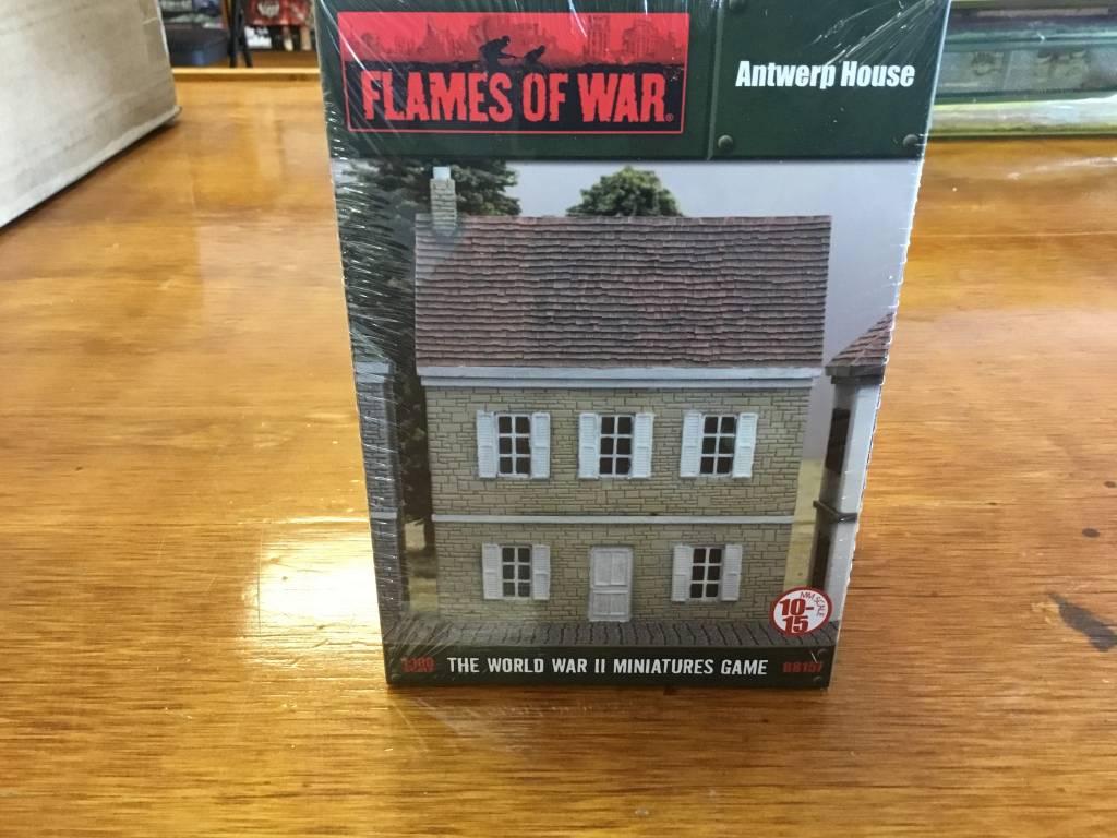 Flames of War FOW: Antwerp House