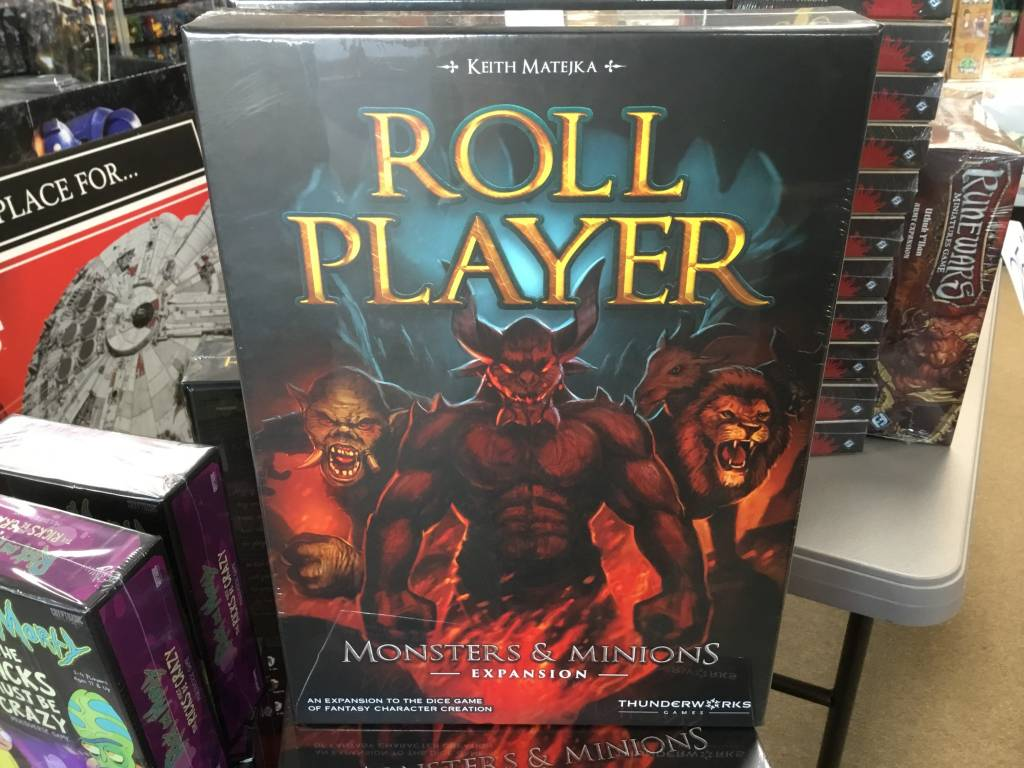Thunderworks Roll Player: Monsters & Minions exp