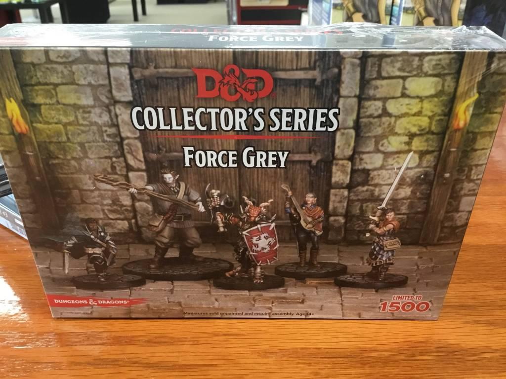 Wizards of the Coast D&D Mini: Force Grey Collectors Series