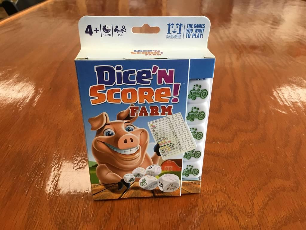 R & R Games Dice n Score: Farm