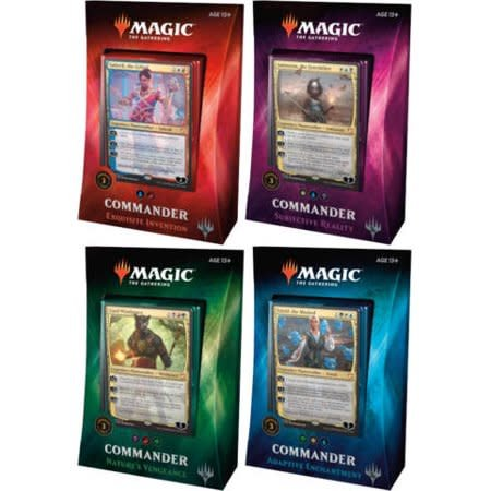 Magic the Gathering Magic Commander 2018 1 of 4
