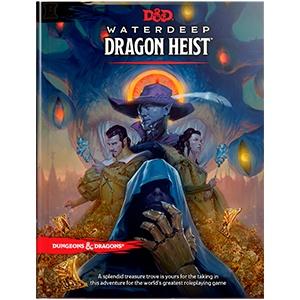 Wizards of the Coast D&D RPG Waterdeep: Dragon Heist Book