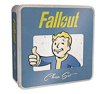 USAOpoly Fallout Chess Set