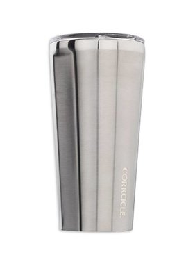 Corkcicle Stainless Tumbler, Brushed Steel