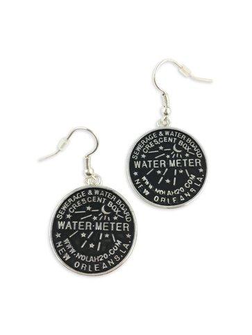New Orleans Water Meter Earrings