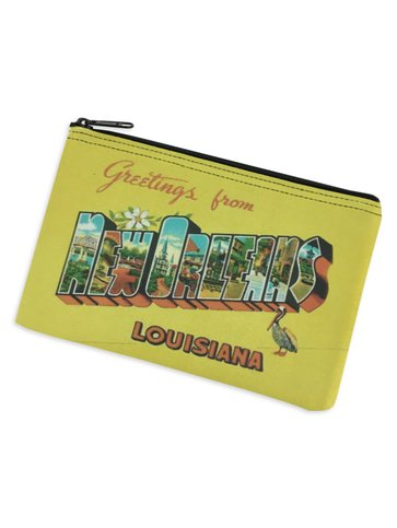 Greetings From New Orleans Cosmetic Bag