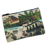 New Orleans Collage Cosmetic Bag
