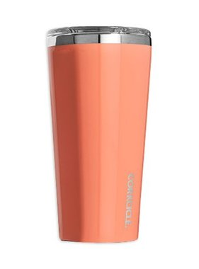 Corkcicle Corkcicle Stainless Tumbler, Peach Echo