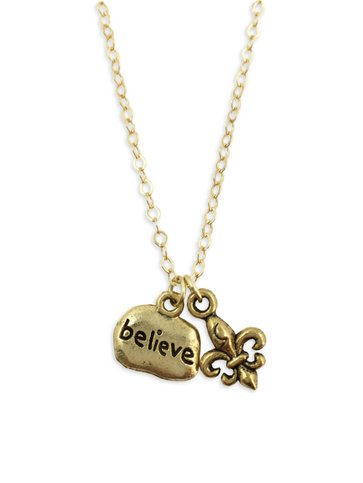 Tiny Believe Necklace