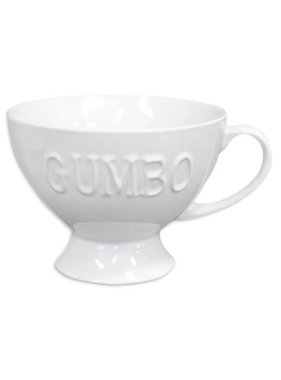 Gumbo Bowl with Foot and Handle
