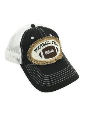 Hat, Football Y'all Trucker Cap