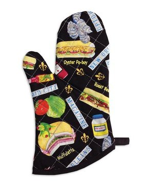 New Orleans Food Oven Mitt