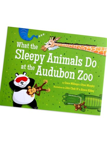 What the Sleepy Animals Do At The Audubon Zoo