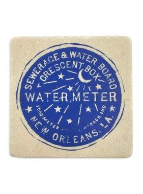 Gift, Preservation Tile Coaster, Water Meter 4x4