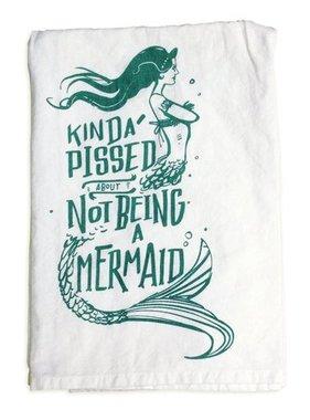 Primitives by Kathy Mermaid Tea Towel
